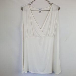 Everly Grey sleeveless blouse